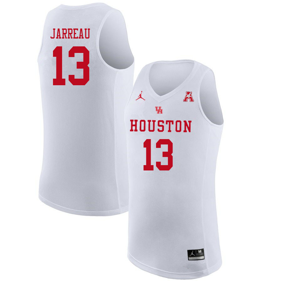 Jordan Brand Men #13 DeJon Jarreau Houston Cougars College Basketball Jerseys Sale-White