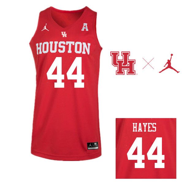Jordan Brand Men #44 Elvin Hayes Houston Cougars College Basketball Jerseys Sale-Red