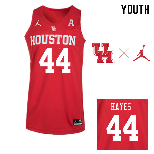 Jordan Brand Youth #44 Elvin Hayes Houston Cougars College Basketball Jerseys Sale-Red